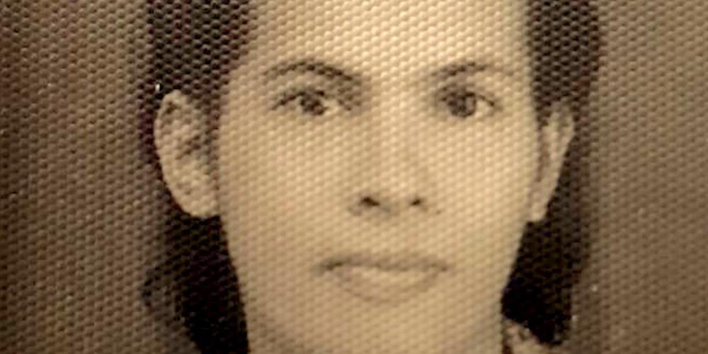 Mama, een jonge vrouw (19 jaar) uit Depok van de familie Bacas.