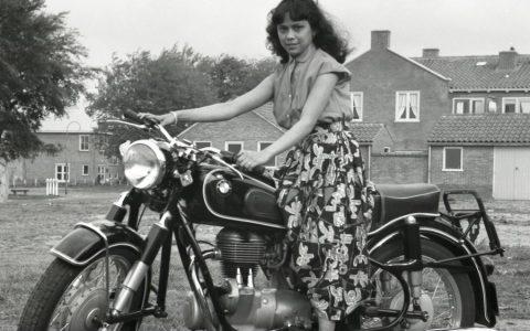 Mijn Oma Hennie Verhoeve 1957 (21 jaar)