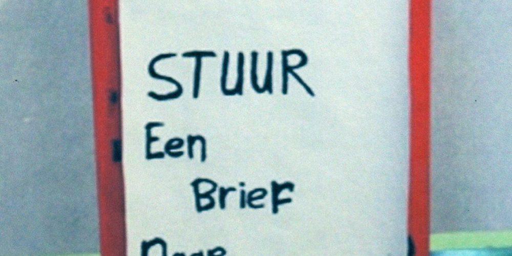 Stuur een brief naar Den Haag