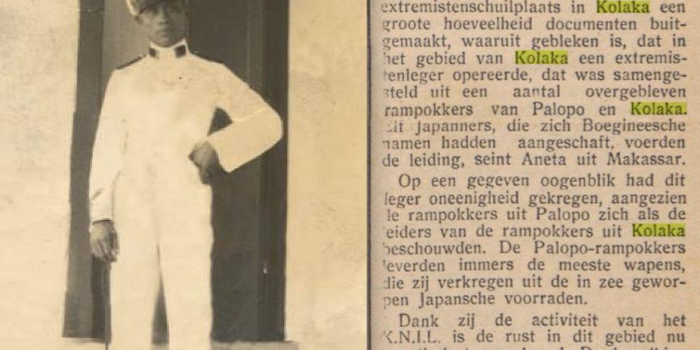 PAULUS HENDRIK SAMBUR   23 JUNI 1904 MENADO – 19 APRIL 1946 KOLAKA
